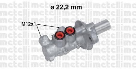 Цилиндр главный тормозной METELLI 050757