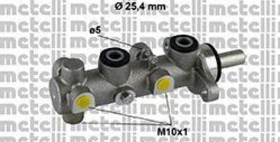 Главный тормозной цилиндр METELLI 050801