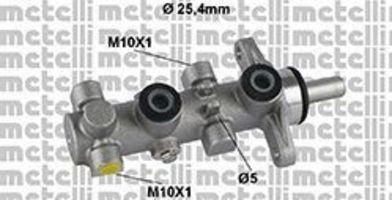 Главный тормозной цилиндр METELLI 050802