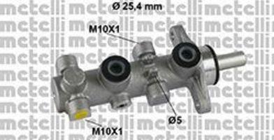 Главный тормозной цилиндр METELLI 050803