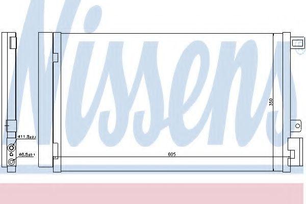 Радиатор кондиционера NISSENS 940024