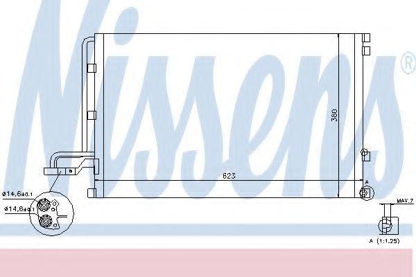 Радиатор кондиционера NISSENS 940087