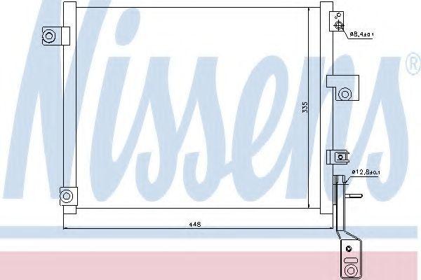 Радиатор кондиционера NISSENS 940171