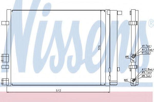 Радиатор кондиционера NISSENS 940224