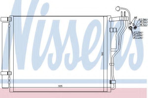 Радиатор кондиционера NISSENS 940273