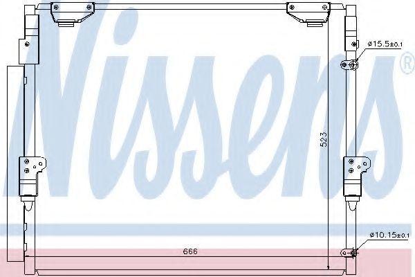 Радиатор кондиционера NISSENS 940304