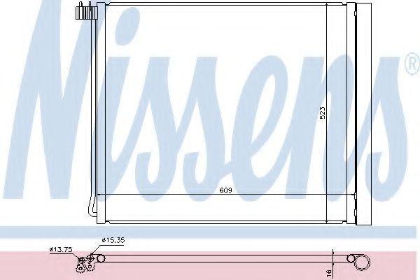 Интеркулер наддува воздуха NISSENS 940339