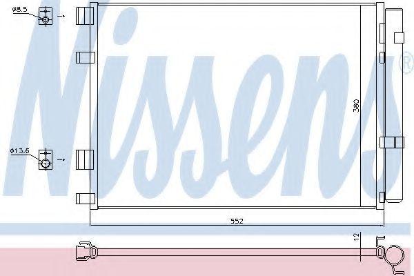 Радиатор кондиционера NISSENS 940426