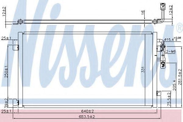 Конденсатор, кондиционер NISSENS 940457