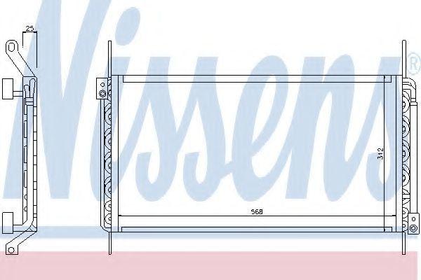 Радиатор кондиционера NISSENS 94217