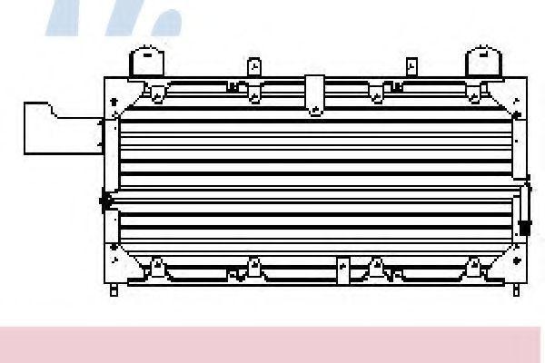 Радиатор кондиционера NISSENS 94318