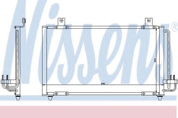 Радиатор кондиционера NISSENS 94456