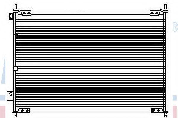 Конденсатор, кондиционер NISSENS 94487