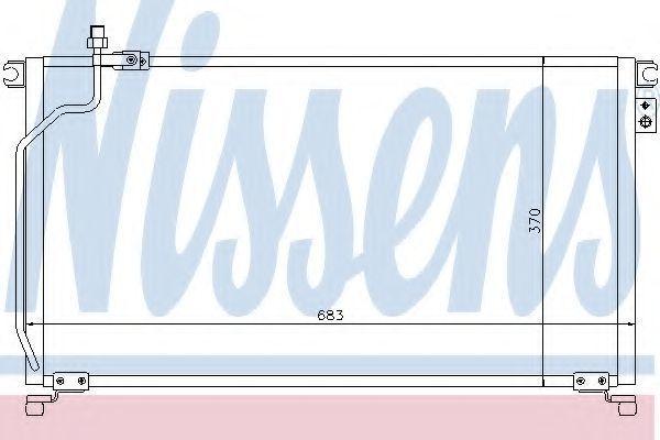 Радиатор кондиционера NISSENS 94501