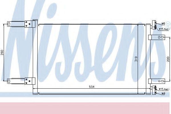 Радиатор кондиционера NISSENS 94632
