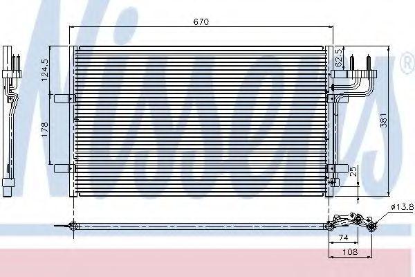 Радиатор NISSENS 94663