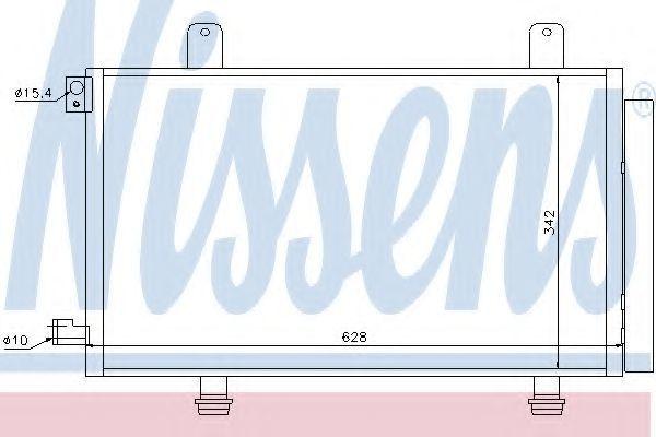Радиатор кондиционера NISSENS 94979