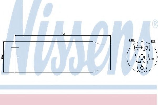 Осушитель кондиционера NISSENS 95170