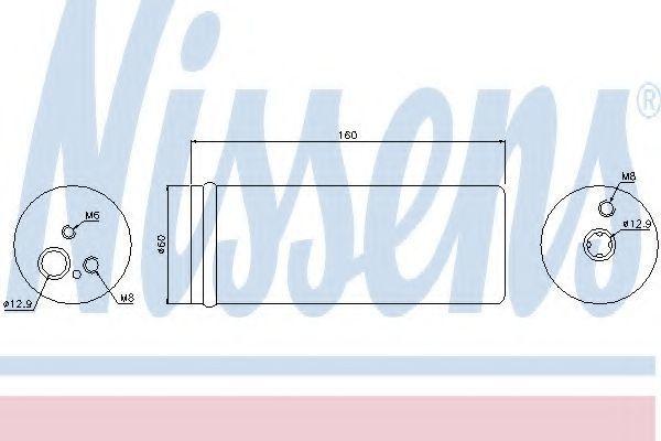 Осушитель кондиционера NISSENS 95171