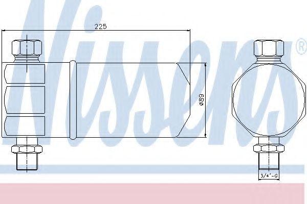 Осушитель кондиционера NISSENS 95115