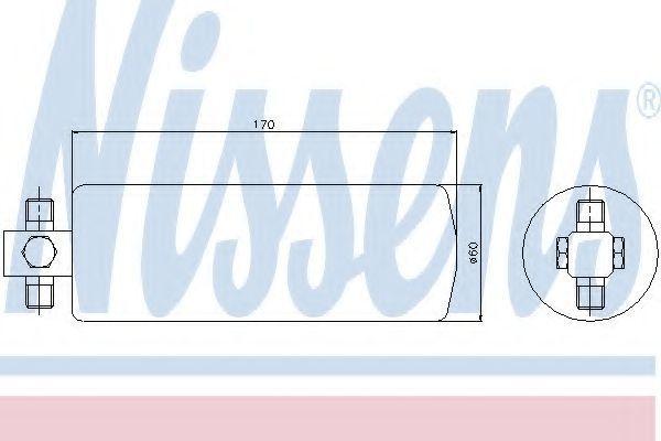 Осушитель, кондиционер NISSENS 95046