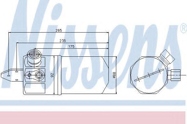 Осушитель кондиционера NISSENS 95318