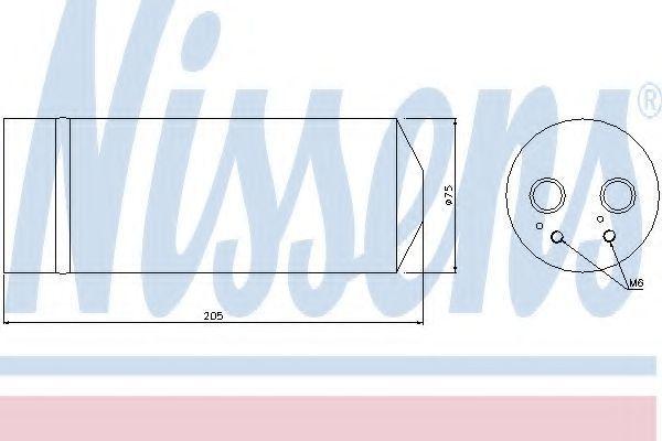 Осушитель кондиционера NISSENS 95352