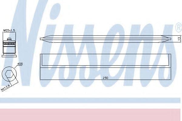 Осушитель, кондиционер NISSENS 95450