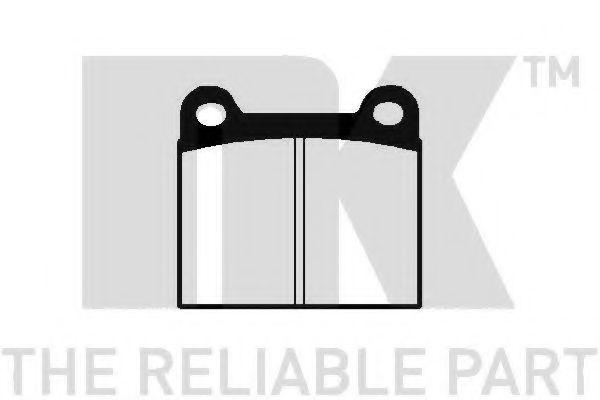 Колодки тормозные NK 229906