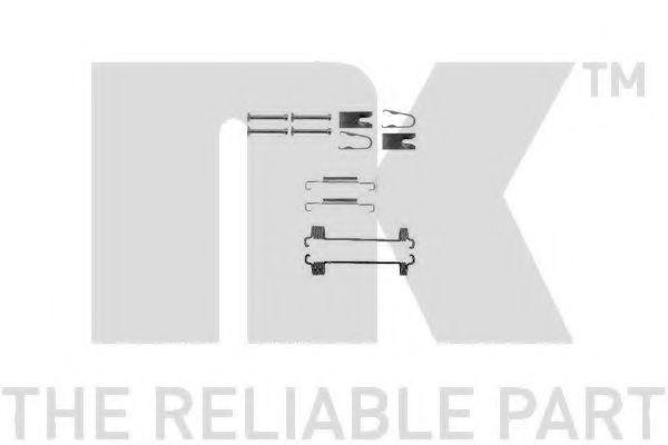 Купить Ремкомплект стояночного тормоза NK 7919875