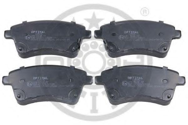 Колодки тормозные OPTIMAL 12575