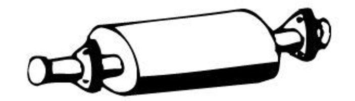 Средний глушитель выхлопных газов WALKER 03408
