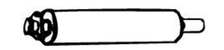 Глушитель WALKER 12892