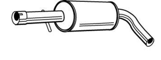 Средний глушитель выхлопных газов WALKER 22719
