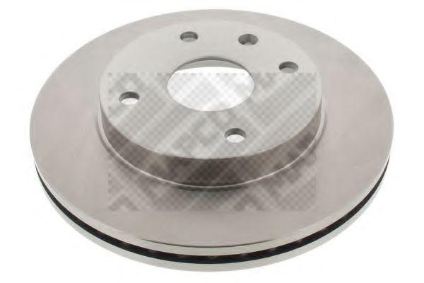 Тормозной диск MAPCO 25234