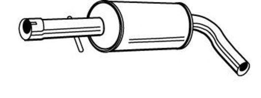 Средний глушитель выхлопных газов FONOS 616719