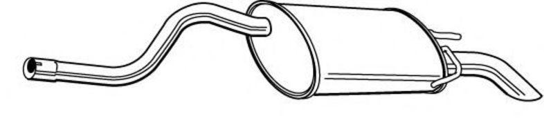 глушитель конечный на renault symbol
