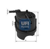 Фильтр топливный UFI 24.343.00