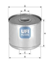 Фильтр топливный UFI 2436001