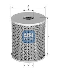 Масляный фильтр UFI 2546800