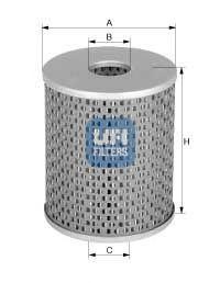 Фильтр топливный UFI 26.652.00