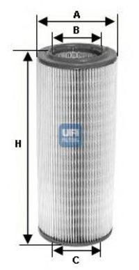 Фильтр воздушный UFI 2725700