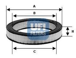 Фильтр воздушный UFI 2771900