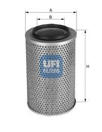 Воздушный фильтр UFI 2772200