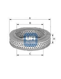 Воздушный фильтр UFI 2772500