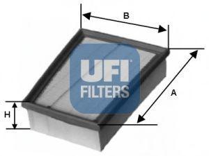 Фильтр воздушный UFI 3039000