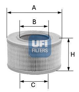 Фильтр воздушный UFI 3080600