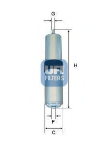 Фильтр топливный UFI 3185701