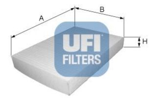 Фильтр салона UFI 5301400