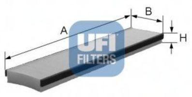 Фильтр салона UFI 5301600